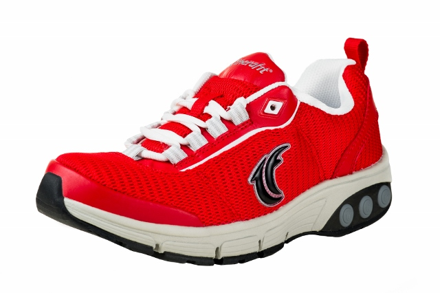 Therafit's Cool Red Sneakers help The American Red Cross!