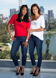 CJ Truth jean & tee with Susanna in Truth jean Hope tee (465x640)